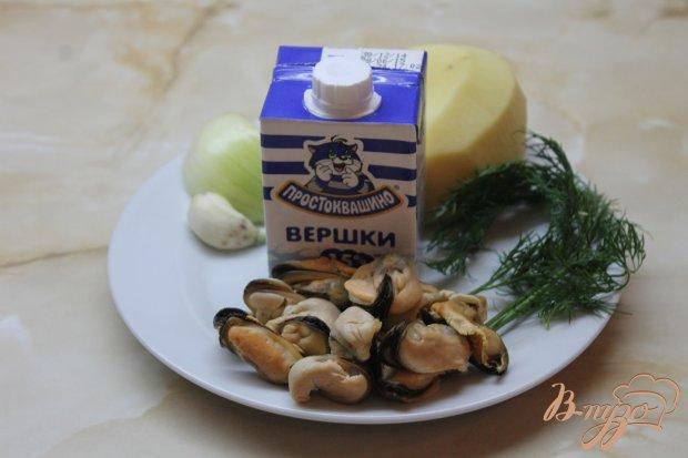 Морской суп с мидиями