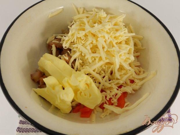 Закуска из сельди и плавленного сыра