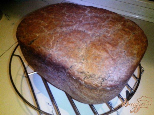 Чёрный хлеб на закваске с солодом и кориандром в хлебопечке