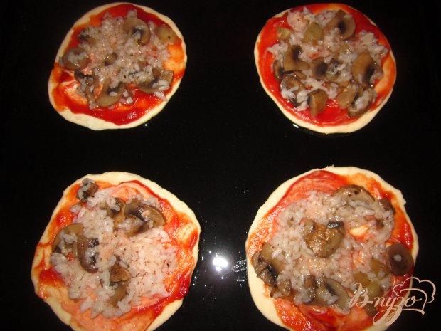 Пицца с рисом