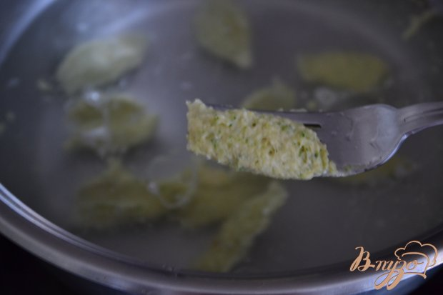 Клецки из брокколи с нутом