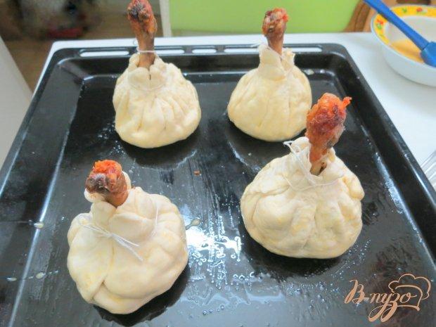 Куриные голени в мешочках