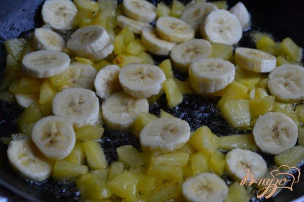 Тонкие блинчики с фруктовой начинкой