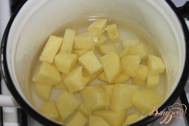 Свиной стейк с картофельным пюре