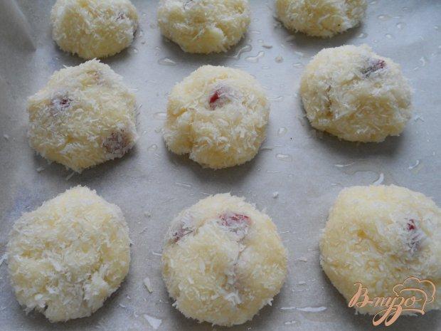 Манные биточки в в кокосовой панировке, в духовке