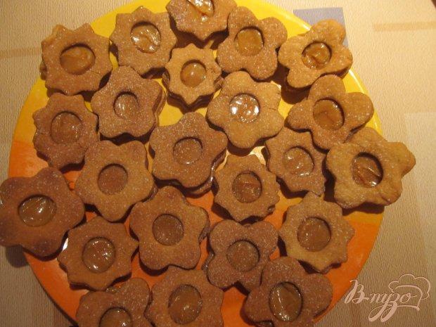 Печенье с начинкой из сгущенки