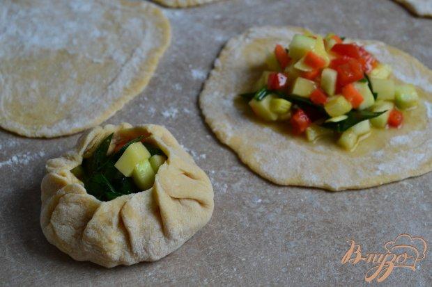 Манты с овощной начинкой