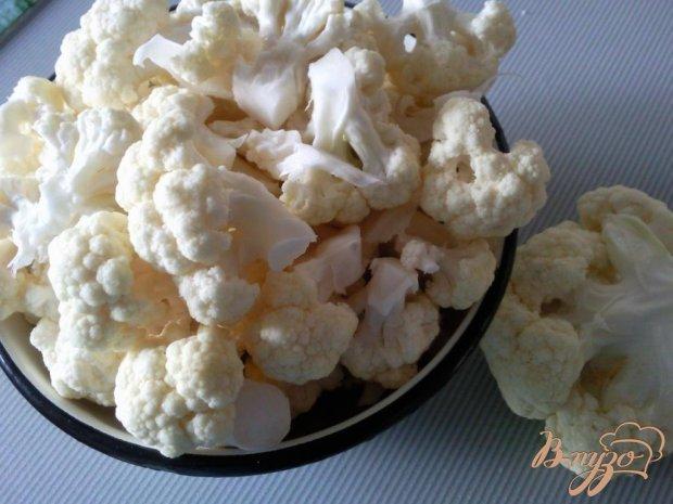 Рецепт Цветная капуста с шампиньонами