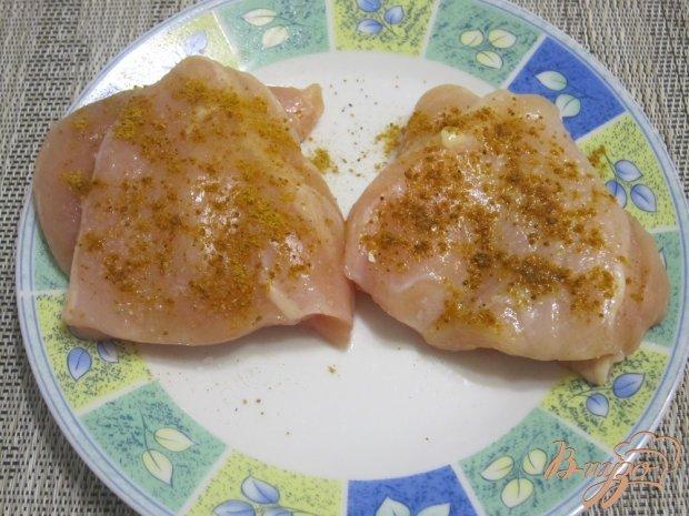 Куриные кармашки с начинкой