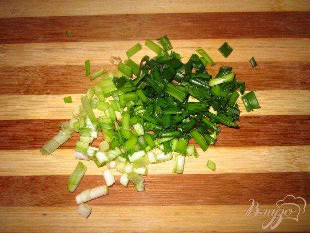 Свиные отбивные в соевом соусе и зеленым луком
