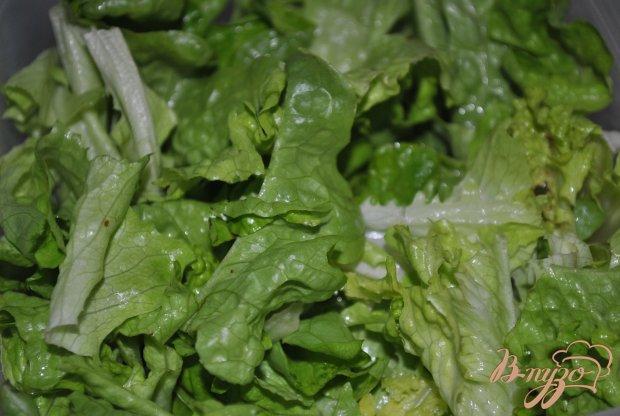Паста с зеленым соусом