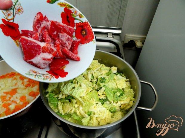 Суп с савойской капустой
