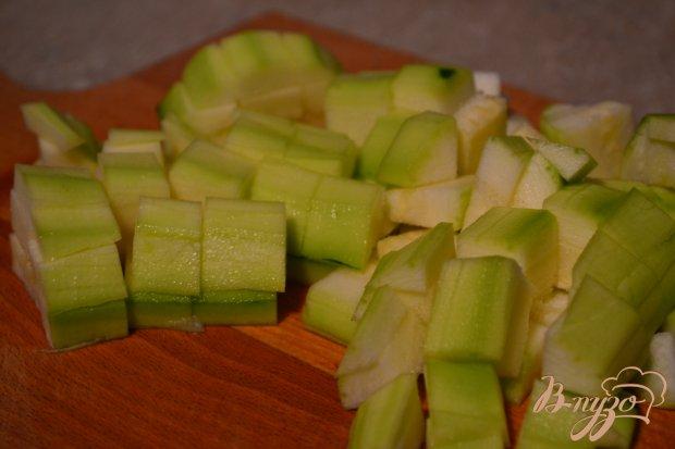 Болоньезе с кусочками овощей