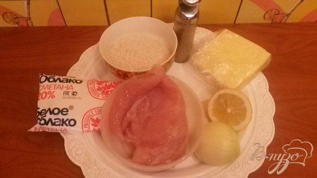 Рецепт Ризотто с куриным филе
