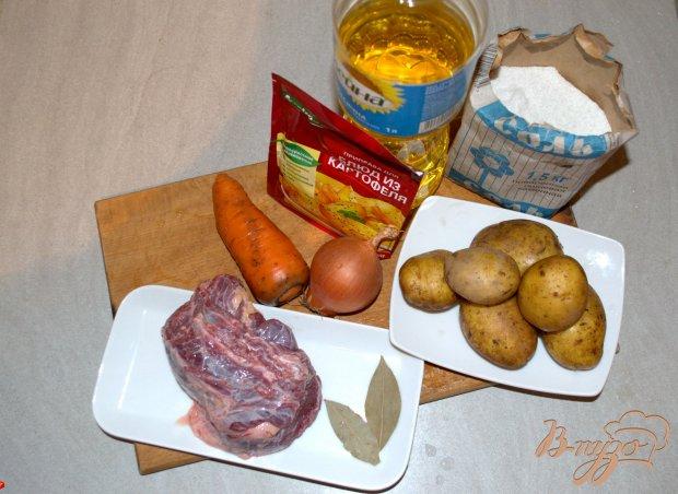 Рецепт Жаркое с говядиной в мультиварке