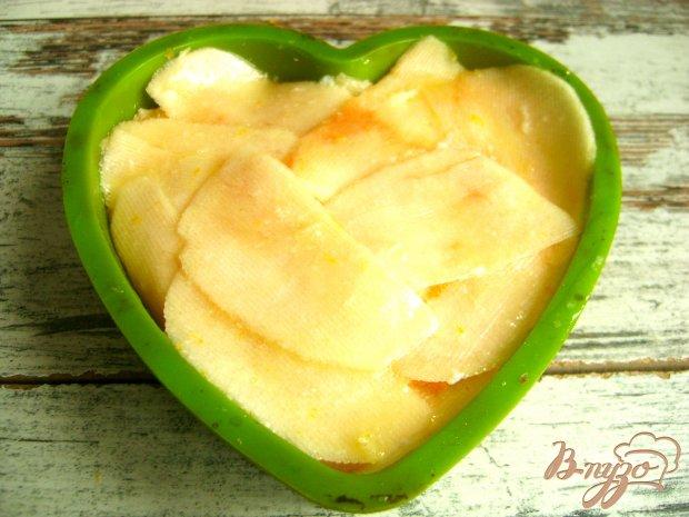"""Яблочный десерт """"Янтарные лепестки"""""""
