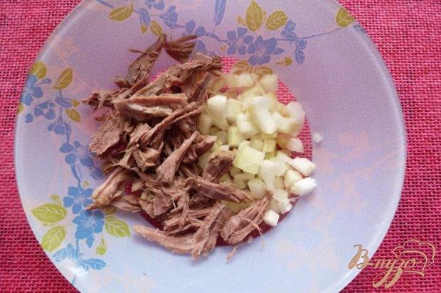 Салат из говядины с морковью по-корейски
