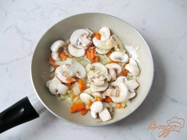 Суп из савойской капусты с грибами.