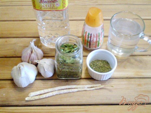 Рецепт Квашенный чеснок