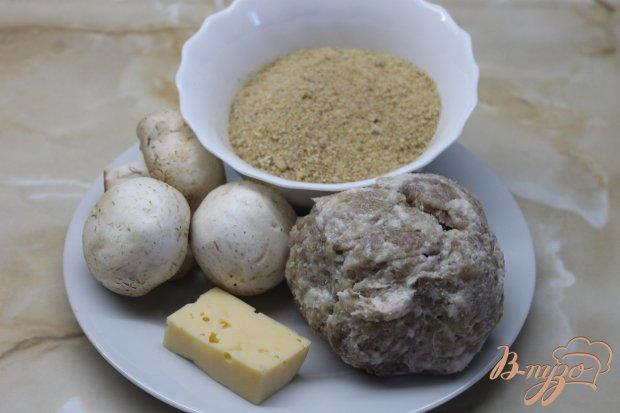 Рецепт Свиные зразы с грибами и сыром