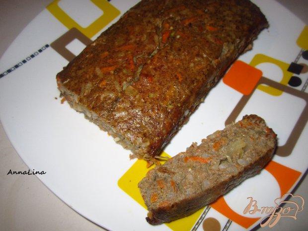 Печеночное суфле с рисом и овощами