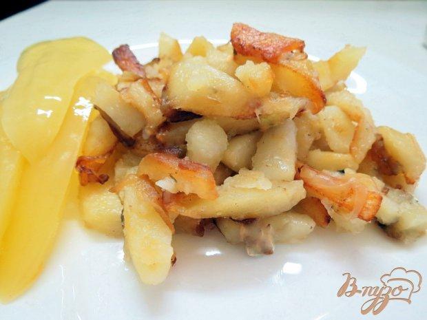 Картофель жареный на сале в мультиварке