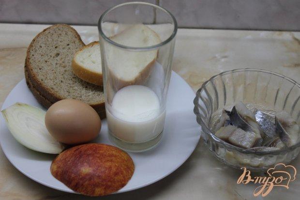 Рецепт Рыбный паштет с ржаными гренками