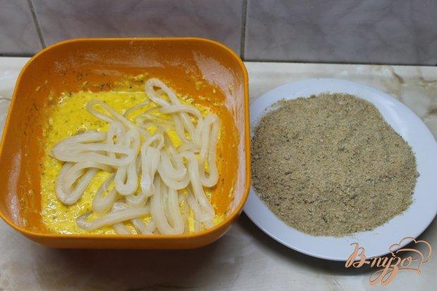 Кальмары фри с соусом