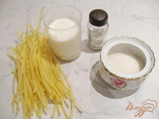 Рецепт Молочный суп с лапшой