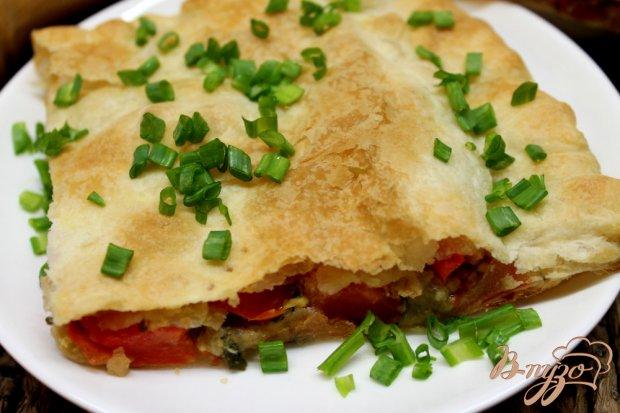 Слоеный пирог с болгарским перцем