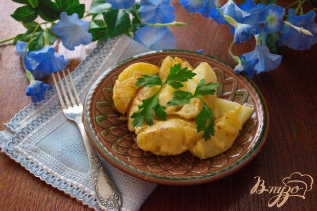 Варенно-печеная картошка с сыром