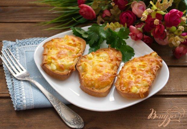 Гренки в духовке с сыром и чесноком