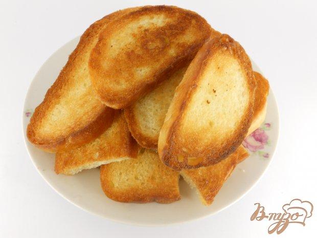 Рецепт Гренки с яйцом и плавленным сыром