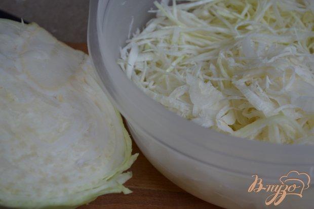 Рецепт Капустный салат с горячей заправкой