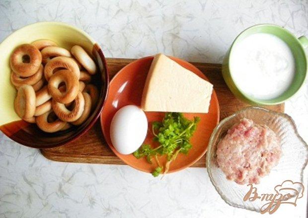 Рецепт Бублики запеченные под сыром