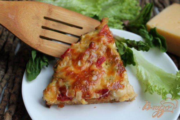 Овощной пирог с сыром