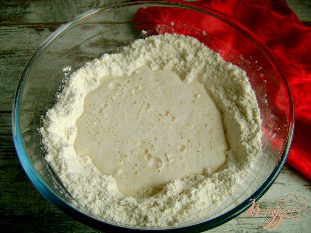 Рецепт Печеные пирожки с картофелем и колбасой