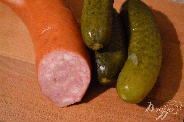 Рецепт Картофельный салат с маринованным луком