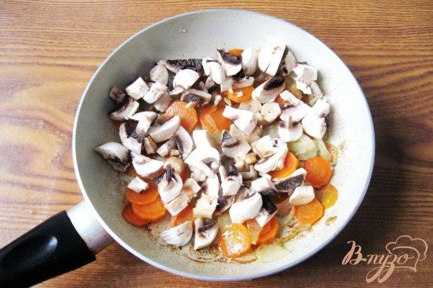 Закусочный крем из куриной печени и грибов