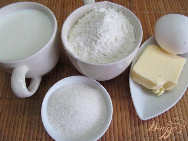 Рецепт Блинчики на молоке и сливочном масле с яблочной начинкой