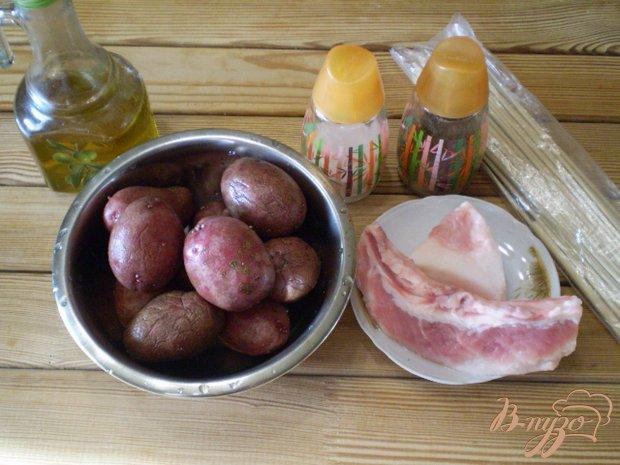 Рецепт Шашлычки из картофеля в духовке