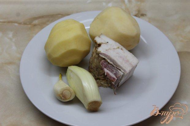 Рецепт Картофель по - домашнему с беконом и аджикой