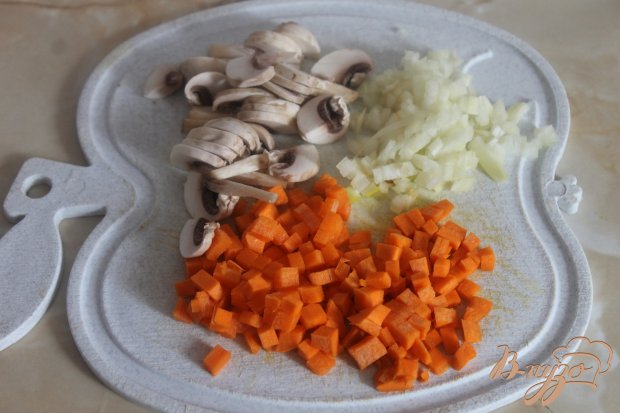 Легкий супчик с овощами