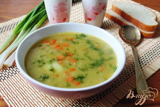 Суп из сухого зеленого гороха