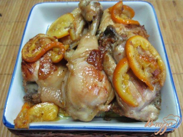 Курица карри с апельсином и медом
