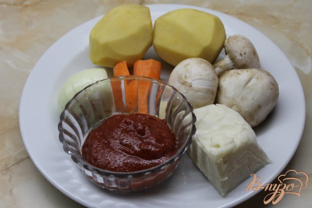 Рецепт Жаркое по - вегетариански