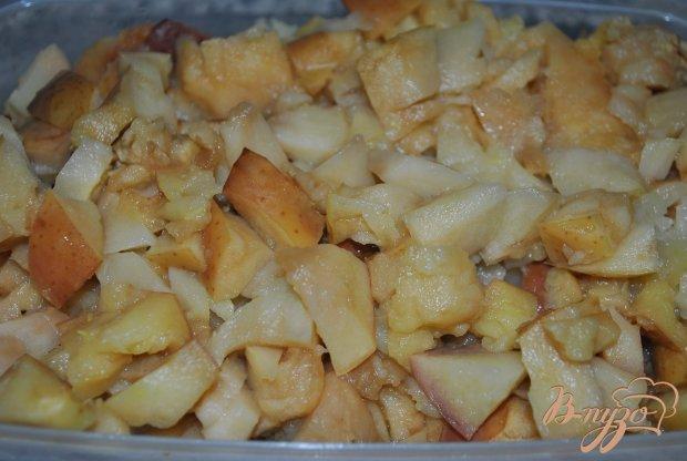 Яблочно-банановые оладушки