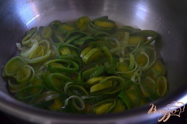 Суп из белокочанной капусты с кусочками тыквы