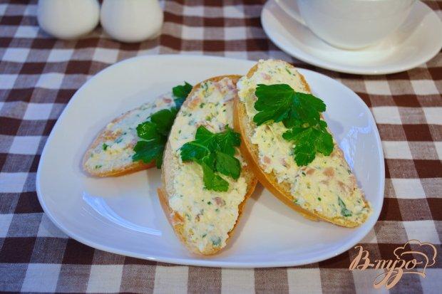 Паста для завтрака из плавленого сырка