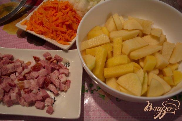 Рецепт Гороховый суп-пюре с беконом